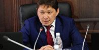 Архивнео фото заведующего отделом внешней политики в ранге заместителя руководителя Аппарата Президента Кыргызской Республики Сапара Исакова