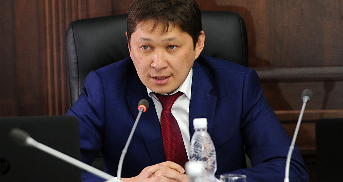 Заместитель руководителя Аппарата президента КР Сапар Исаков. Архивное фото