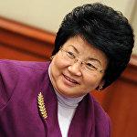 Экс-президент Кыргызской Республики Роза Отунбаева