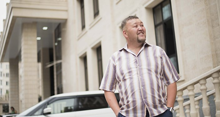 Актер Камчы Сарыбаев. Архив