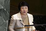 Кыргызстандын экс-президенти Роза Отунбаеванын архивдик сүрөтү