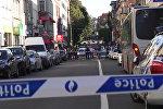 Женщина с ножом напала на пассажиров автобуса в Брюсселе. Кадры с места ЧП