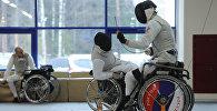 Фехтовальщики-паралимпийцы. Архивное фото