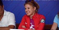 Кыргызстанская легкоатлетка Мария Коробицкая. Архивное фото