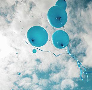 Воздушные шарики. Архивное фото