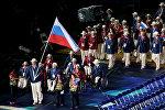 Паралимпийская сборная России на церемонии открытия ХIV летних Паралимпийских игр на Олимпийском стадионе в Лондоне. Архивное фото