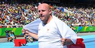 Польский атлет Петр Малаховский, завоевавший серебряную медаль на Олимпиаде-2016