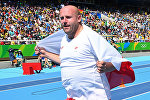 Риодо өткөн Олимпиадалык оюндарда күмүш медал жеңип алган Польшалык атлет Петр Малаховский