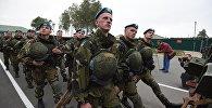 Миротворческие силы ОДКБ во время учений. Архивное фото