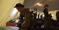 Миротворческие силы ОДКБ Нерушимое братство-2016 в Республике Беларусь. Архивное фото