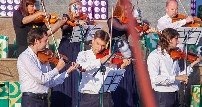 Фестиваль TENGRI music в столичном парке Победы имени Даира Асанова