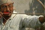 Древний лук кыргызов впервые воссоздал бишкекчанин из рогов и сухожилий