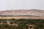 Танки турецкой армии на территории города Джараблус в Сирии