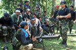 . Филиппиндеги Абу Сайяф деп аталган террордук тобу. Архив