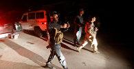 Афганские силы безопасности на месте нападения на Американский университет в Кабуле