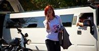 Церемония награждения участниц конкурса на звание лучшей девушки-водителя Автоледи Бишкек — 2016