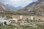 Заброшенный город-призрак Иныльчек в Иссык-Кульской области