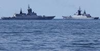 Военные корабли РФ. Архивное фото