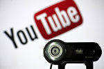 Логотип видео портала YouTube. Архивное фото