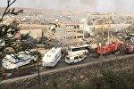 Түркиянын Ширнак провинциясындагы Жизре шаарында жүк ташуучу автоунаа жарылышы