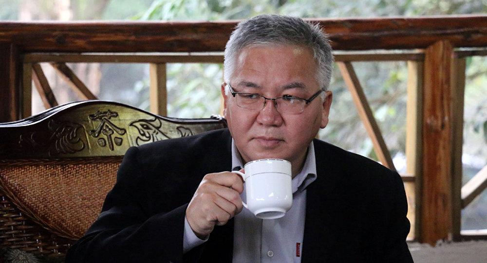 Кыргызский политолог Марс Сариев