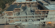 Строительство торгового центра Азия Мол в Бишкеке