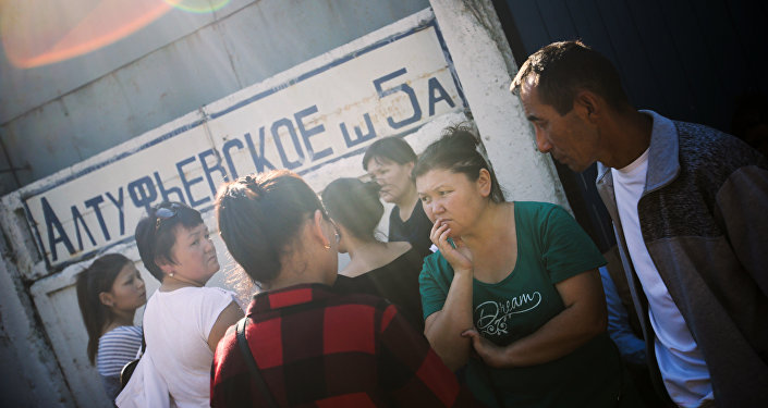 Хронология, смерть кыргызстанцев ипричины ЧП— Пожар в столицеРФ