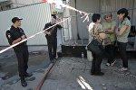 Москвада өрттөн каза болгондордун жакындары