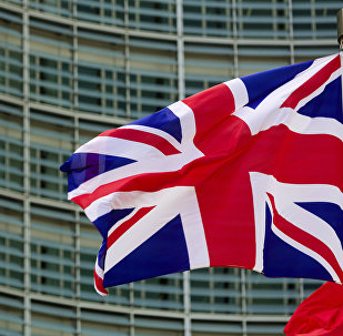 Государственный флаг Великобритании. Архивное фото