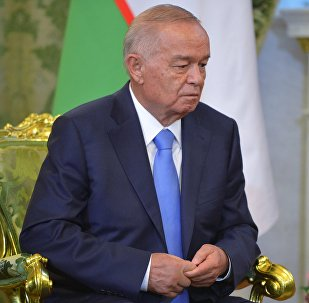 Өзбекстандын туңгуч президенти Ислам Каримов. Архив