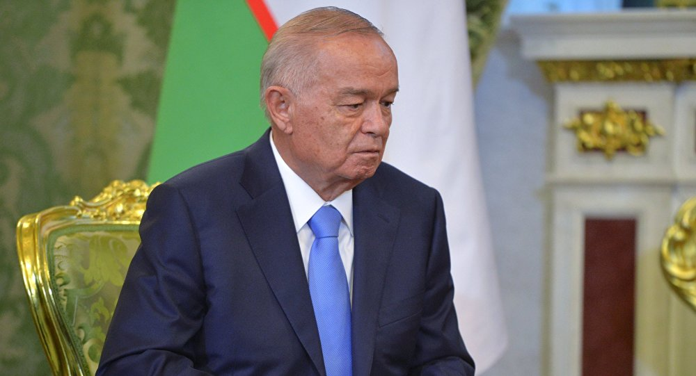 По основным телеканалам Узбекистана сказали оболезни президента