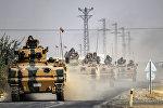 Сириянын түндүк тарабында Түркия аскерлеринин архивдик сүрөтү