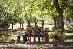 Жизнь в поселке Мин-Куш Джумгальского района