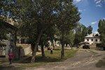 Вид на поселок Мин-Куш Нарынской области. Архивное фото