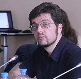 Архивное фото главы Евразийского аналитического клуба (ЕАК) Никиты Мендкович