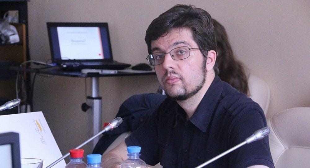 Архивное фото главаы Евразийского аналитического клуба Никиты Мендковича