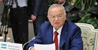 Өзбекстандын президенти Ислам Каримов. Архив