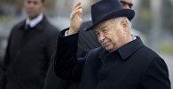 Архивное фото первого президента Узбекистана Ислама Каримова