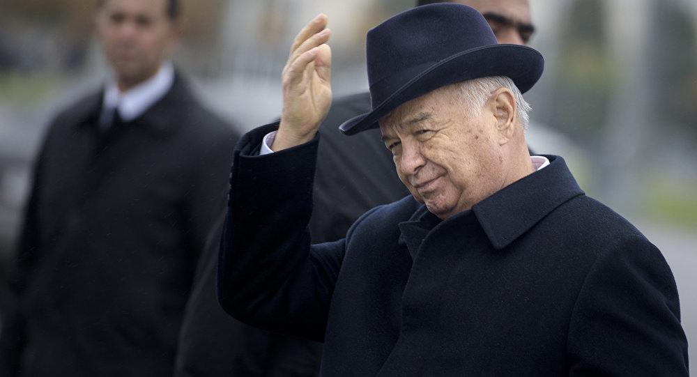 Өзбекстандын биринчи президенти Ислам Каримовдун архивдик сүрөтү