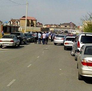 Взрыв в южной части Бишкека