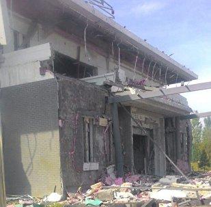 Взрыв в посольстве Китая в Бишкеке
