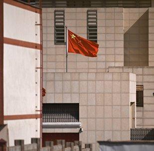 Бишкектеги Кытай элчилиги. Архивдик сүрөт