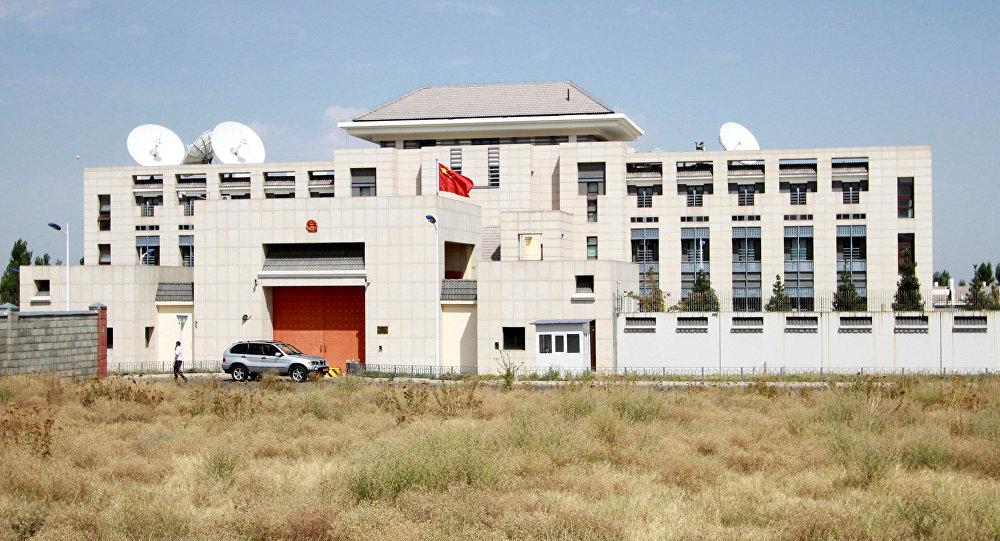 Бишкектеги Кытай мамлекетинин элчилиги. Архив