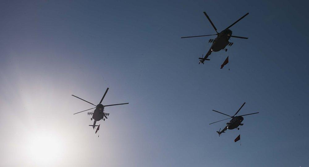 Вертолеты ВС КР. Архивное фото
