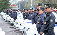 Бишкектин патрулдук кызматкерлери. Архивдик сүрөт