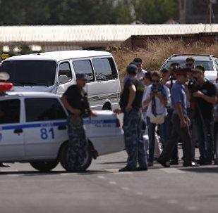 Бишкектеги Кытай элчилигинде жарылуу