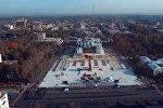 1500 аскер Кыргызстандын гимнин ырдашты. Майрамдык парадга болгон даярдык