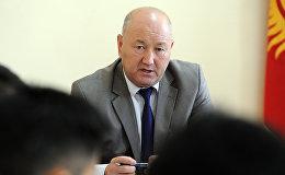 Архивное фото вице-премьера Кыргызстана Жениша Разакова