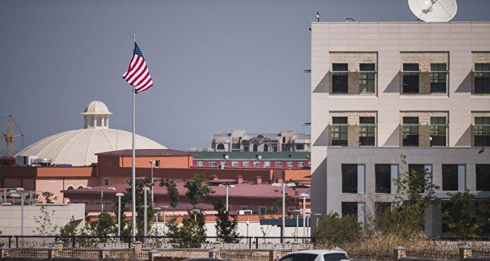 Посольство США в Бишкеке. Архивное фото