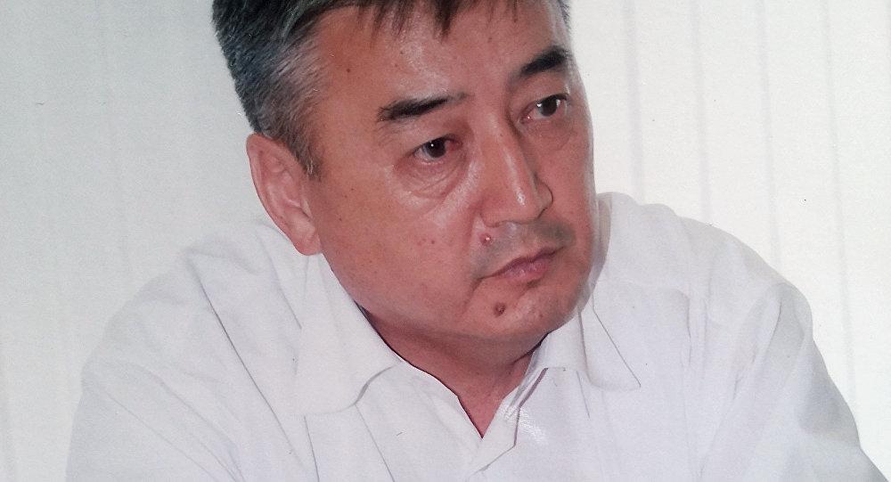 Ветеран ГКНБ, эксперт по проблемам безопасности, полковник спецслужб в отставке Талант Разаков. Архивное фото